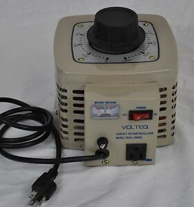 Volteq 1kva Variable Transformer Variac 1000va 0 250v