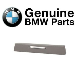 For Bmw E90 E91 E92 E93 3 Series Driver Left Cup Holder Trim Cover Gray Genuine