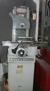 Brown Sharpe 510 Hand Surface Grinder W 5 x10 Magnetic Chuck