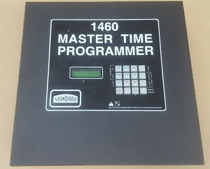 Standard faraday 1460 Master Time Programmer 2x Secondary 6x Bell utility New