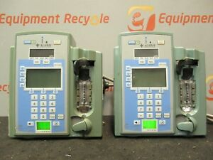 Alaris 7130e Ivac Gold Edition Volumetric Infusion Iv Pump Lot Of 2
