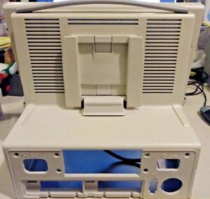 Hp Viridia 24 26 Patient Monitor M1204a Rear Shell With Dial Module Input Tech