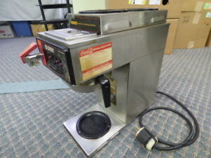 Bunn Coffee Maker 3 Burner Automatic Brewer Commercial Stainless Steel Cwtf35