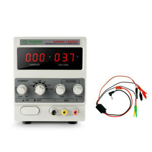 15v 2a Digital Lcd Dc Power Supply Variable Lab Bench Adjustable Test Power Part