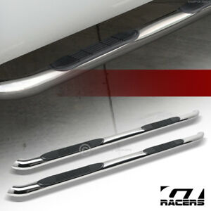 For 2010 2017 Chevy Equinox gmc Terrain 3 Side Step Nerf Bars Boards Hd Chrome