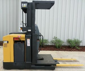Caterpillar Model Nor30 2006 3000lbs Capacity Order Picker Electric Forklift