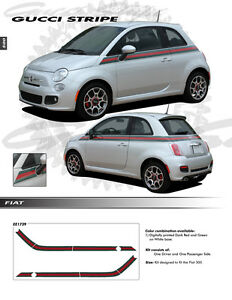 Graphics Kit Decals Trim Emblems Ee1739 For Fiat 500 2012 2017