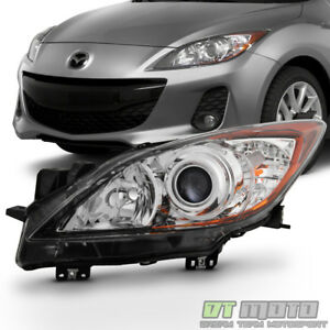 2010 2011 2012 2013 Mazda 3 Mazda3 Halogen Headlight Headlamp Left Driver Side