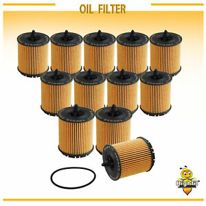 12pcs New Cartridge Premium Engine Oil Filter Case Of 12 Fit Gm Various Vehicle