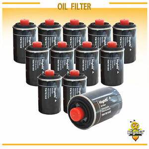 12pcs New Premium Spin on Engine Oil Filter Case Of 12 Fit Audi vw 2 0t Turbo