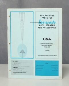 Brush Part Ii Replacement Parts For Oscillographs Accessories