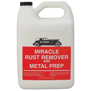 Bill Hirsch Rust Remover Metal Prep Gallon Usa Bh Rrmg