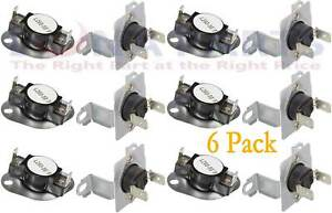 Snkit Dc47 00018a Dc96 00887a For Samsung Dryer Thermal Fuse Thermostat 6 Pack