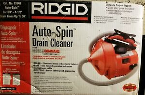 Ridgid Sink Machine 19148 3 4 1 1 2 30ft Drain Cleaner