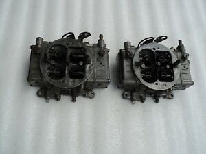 426 Hemi Holley 660 Cfm Center Squirter Carburetors cuda challenger charger gtx