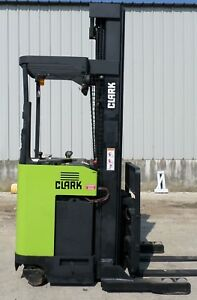 Clark Model Npr17 2002 3500 Lbs Capacity Great Reach Electric Forklift