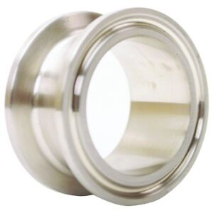 Sanitary Spool Tri Clamp 1 5 Inch X 1 Ss304 3a 2 Pack