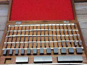 Starrett Darpa Carbide Gage Block Master Set 10002 4