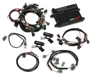 Holley Efi 550 628 Ford Coyote Ti Vct Capable Hp Efi Kit Bosch O2
