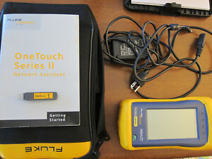 Fluke One touch Series Ii With Case Charger Manual And Accessories