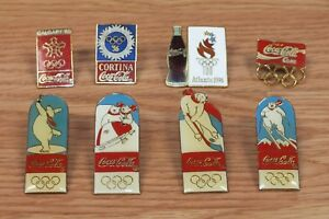 Individual Replacement Coca Cola Olympics Collectible Pin / Brooch of Choice