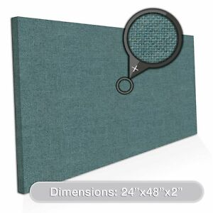 Adw Acoustic Panels 48 X 24 X 2 Rectangle Quick Easy Diy Install See Our
