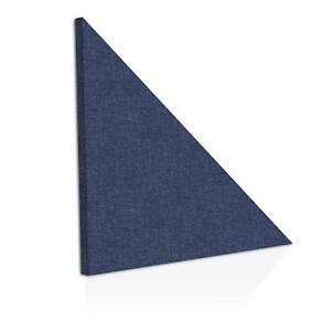 2 pack Adw Acoustic Panels 24 X 24 X 2 Half square Easy Diy Install See