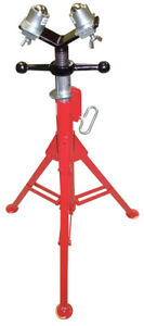 Wheeler rex 851 Folding Pipe Stand W bt Head