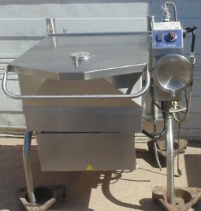 Cleveland Sgl30t1 Powerpan Tilting Skillet Gas 30 gallon Capacity