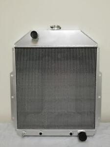 1942 1952 Ford Pickup Truck With Chevy Engine Aluminum 3 Core Radiator F series