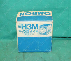 Omron H3m Time Delay Control Timer 30m 30 Minute 120vac