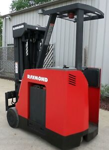 Raymond Model R35 c35qm 2002 3500 Lbs Capacity Great Docker Electric Forklift