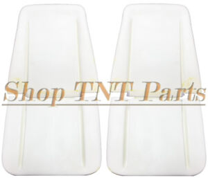 1966 1970 Gm Impala Nova Chevelle Seat Foam Pair Buns Cushions Bucket Cutlass Ss