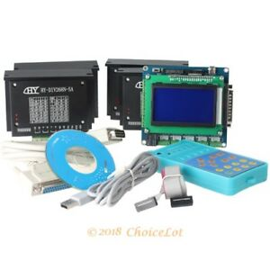 Diy Cnc Kit 4 Axis New Breakout Board Kit 4 Tb6600hg Stepper Driver Controller