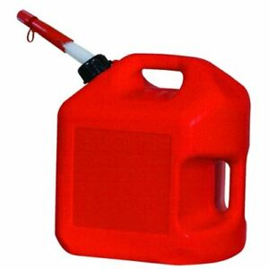 Midwest Can 5600 4pk Gas Can 5 Gallon Capacity Pack Of 4