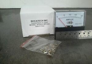 Panel Meter 0 20a Dc Amp Meter Direct Reading 70 X 60mm