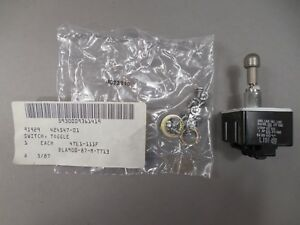 Honeywell 4tl1 111f Toggle Switch Lot of 3 New