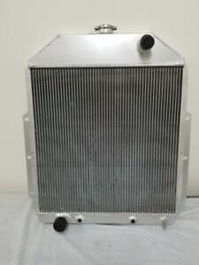 1942 1952 Ford Pickup Truck Aluminum Radiator 3 Core F series For Ford Engine