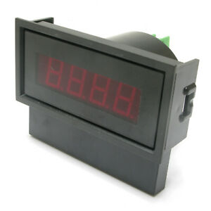Panel Meter 0 200 Ac Digital Volt Meter with Bezel