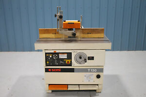 Scmi Model T130n Single Spindle Shaper