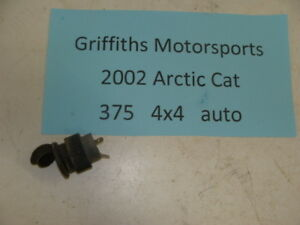 2002 02 Arctic Cat 375 4x4 atv 12v accessory lighter plug outlet oem 400 500