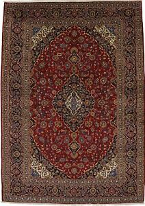 Beautiful Handmade Extra Large Vintage Persian Rug Oriental Area Carpet 10x14