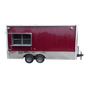 Concession Trailer Brandywine 8 5 X 18 Catering Event Food Trailer