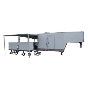 8 5 X 30 White Food Event Catering Concession Food Trailer