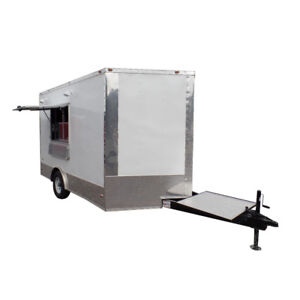 Concession Trailer 8 5 X 12 White Food Event Catering