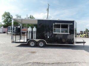 Concession 8 5x20 Food Catering Vending Trailer