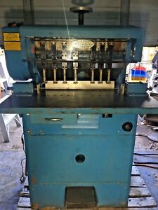 7 Head Paper Drill Ms 10a Challenge Machinery