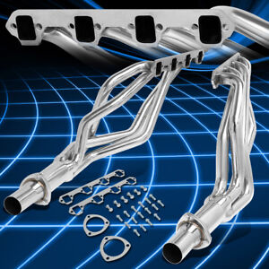 For 64 70 Ford Mustang 260 351 Windsor Stainless Steel Exhaust Header Manifold