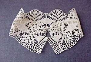 Antique Crocheted Lace Collar 7081