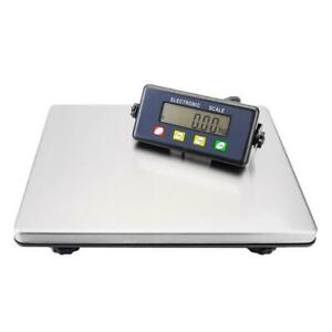 Heavy Duty Digital 200kg 440lb Platform Scale Warehouse Postal Parcel Weighing